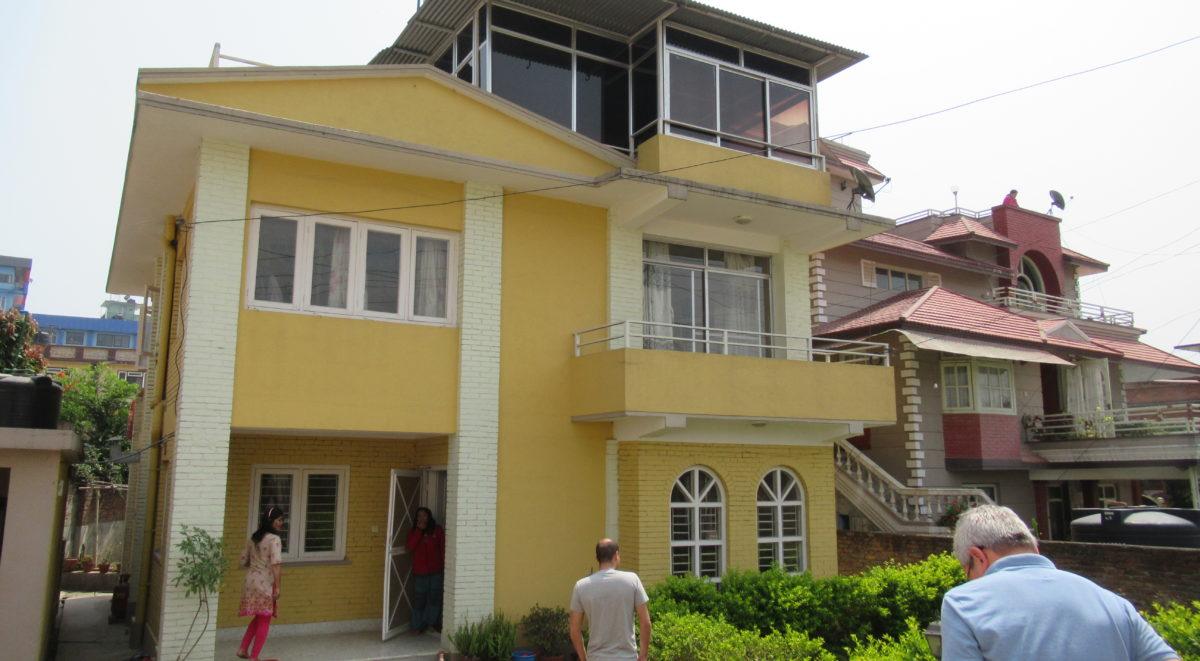 Das zweite neue Haus in Nakhu